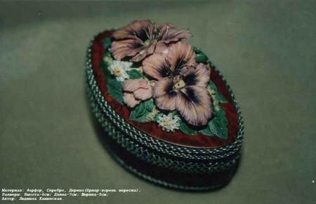 Фарфоровая красота – работы студии Людмилы Каминской — фото 16