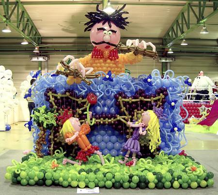 Твистинг – скульптуры из воздуха, или надувательство ))) Фигуры из воздушных шариков — фото 44