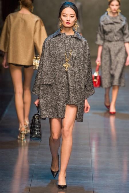 Dolce & Gabbana осень-зима 2013-2014 – когда всего слишком много — фото 18