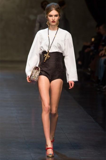 Dolce & Gabbana осень-зима 2013-2014 – когда всего слишком много — фото 35