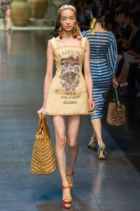 Сицилия от Dolce & Gabbana - женская коллекция весна-лето 2013 — фото 59