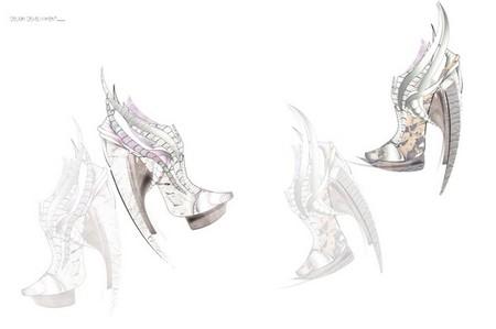 Обувь Еxoskeleton, распечатанная и хищная — фото 14