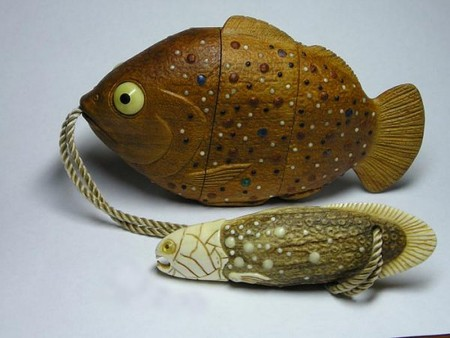 Большая рыбка и есть сагемоно