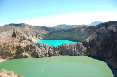 Вулкан Келимуту и 3 разноцветных озера — фото 9