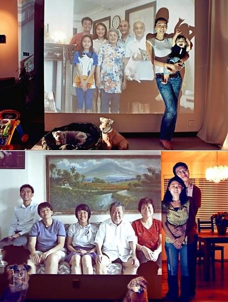 Виртуальные семейные портреты – хитрость от Джона Кланга — фото 10