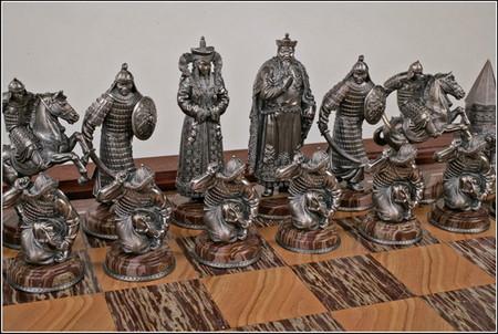 Черные фигуры: Золотая Орда 14 в. Король- Хан Мамай