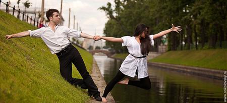 Спортивные бальные танцы, Лебяжья канавка