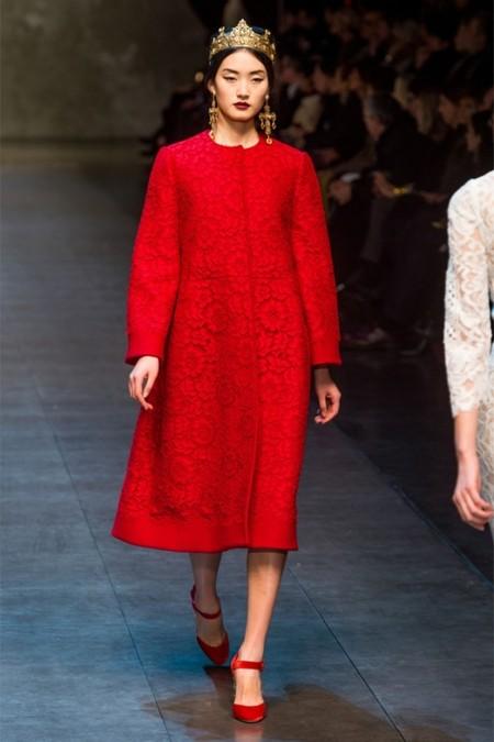 Dolce & Gabbana осень-зима 2013-2014 – когда всего слишком много — фото 56