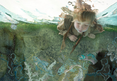 Zena Hollоway – редкий подводный фотограф — фото 11