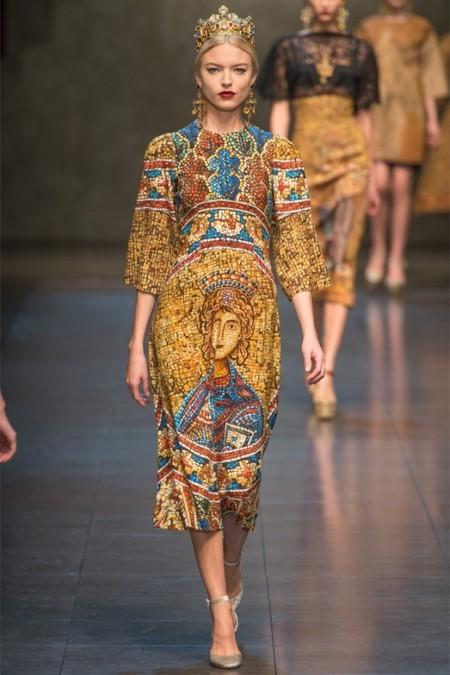 Dolce & Gabbana осень-зима 2013-2014 – когда всего слишком много — фото 3