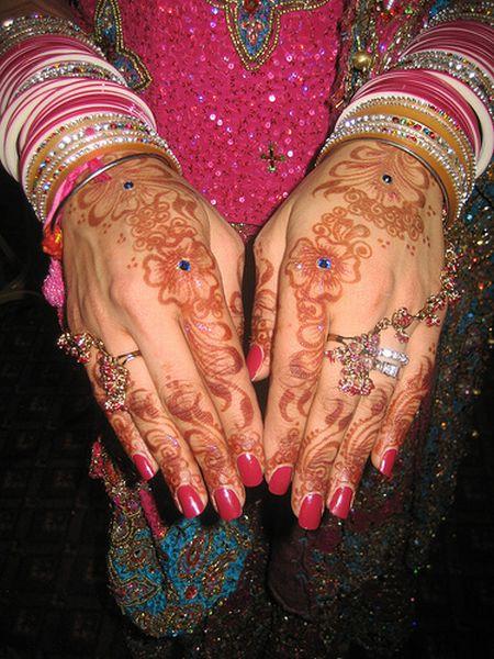 Менди – украшение не только для индийских принцесс — фото 24