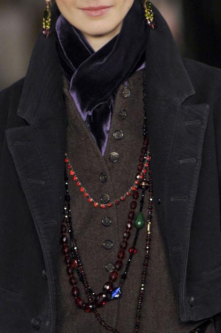 Коллекция Ralph Lauren осень-зима 2013-2014 – эпохе Анны Карениной посвящается — фото 73