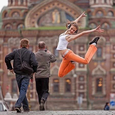 Акробатика, Таня Гомжина, собор Спас на крови