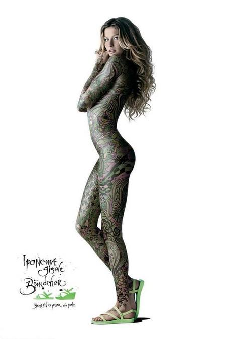 Татуировка в рекламе – тело как рекламная площадь — фото 6