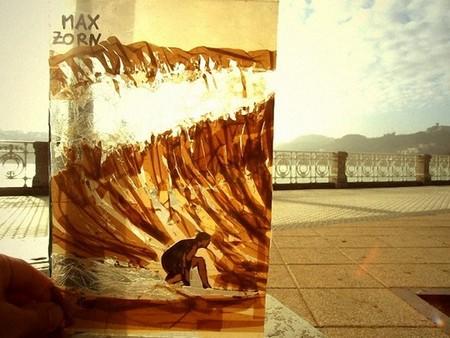 Скотч и скальпель в искусстве – удивительные картины Макса Зорна — фото 15