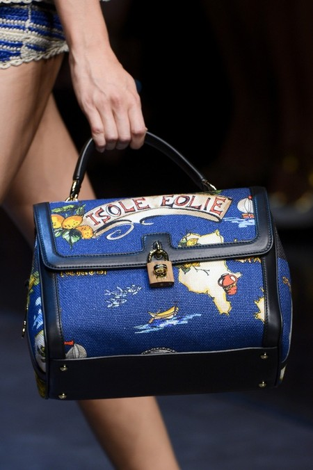 Сицилия от Dolce & Gabbana - женская коллекция весна-лето 2013 — фото 93