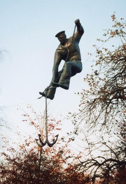 Скульптуры в воздухе от Jerzy Kedziora — фото 7