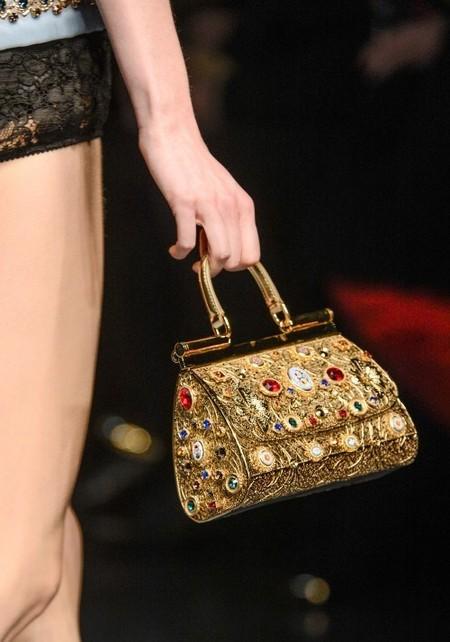 Dolce & Gabbana осень-зима 2013-2014 – когда всего слишком много — фото 81