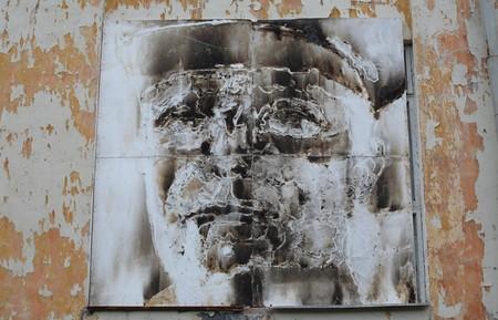 В память о ВОВ – лица, нарисованные огнем и «коктейлем Молотова». Проект T-Radya — фото 16