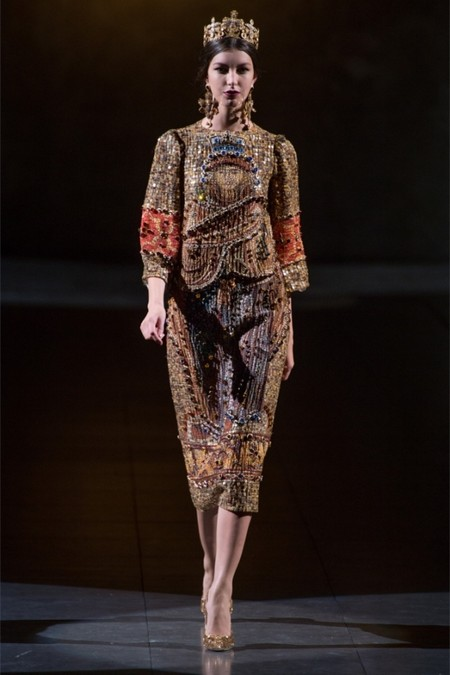 Dolce & Gabbana осень-зима 2013-2014 – когда всего слишком много — фото 4