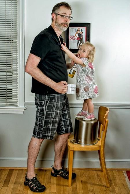 Папа и дочь – истории в картинках. Фото Дэйва Энглдау — фото 49