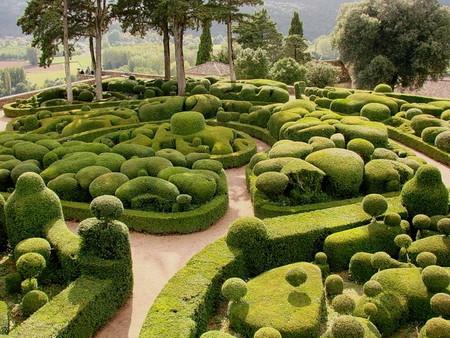 Сад открыт для туристов