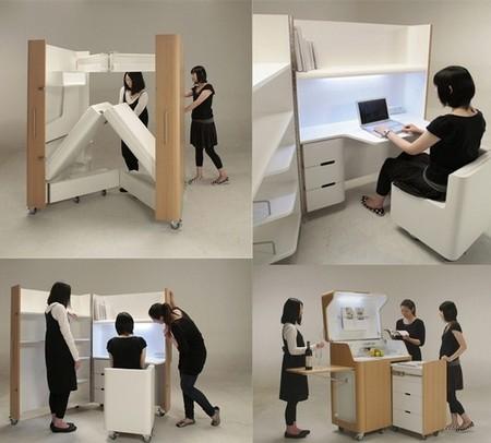 """Три небольших """"чемодана"""" могут заменить трехкомнатную квартиру ))"""