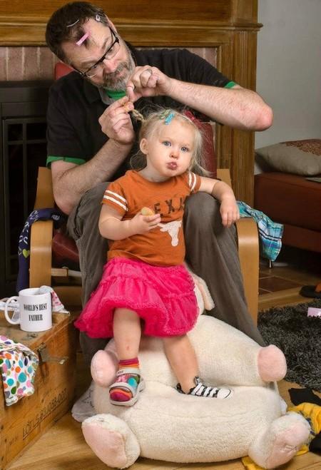 Папа и дочь – истории в картинках. Фото Дэйва Энглдау — фото 55