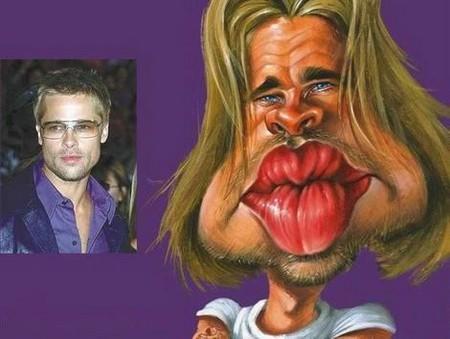 Современные карикатуры на голливудских звезд — фото 32