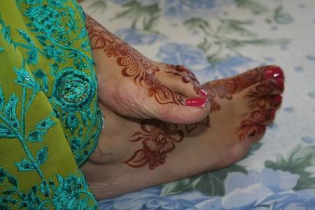 Менди – украшение не только для индийских принцесс — фото 48