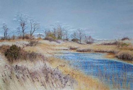 Вышитые пейзажи Джилл Дрэпер (Jill Draper) — фото 8