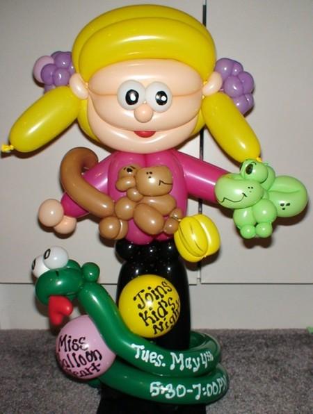 Твистинг – скульптуры из воздуха, или надувательство ))) Фигуры из воздушных шариков — фото 15
