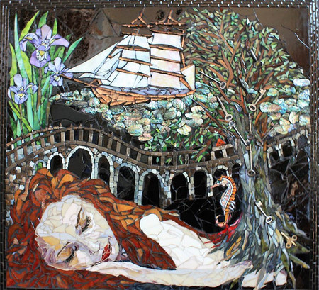 Мозаики с прочими железками и без