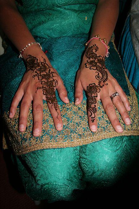 Менди – украшение не только для индийских принцесс — фото 43