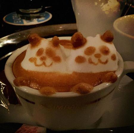 3D везде, даже в кофейной пенке! Продвинутый латте-арт от Kazuki Yamamoto — фото 9
