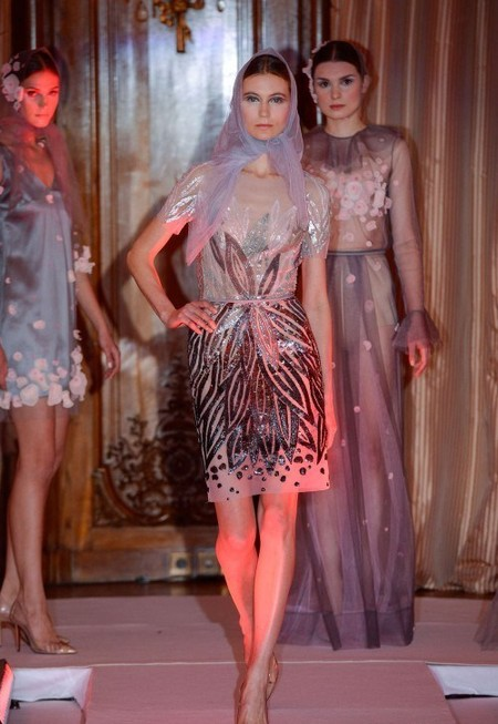 Наши в Париже – коллекция Юлии Яниной сезона весна-лето 2013 — фото 5