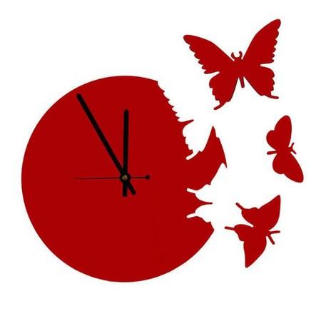 Что общего у времени и бабочек? Разгадка – в часах Butterfly clock — фото 12