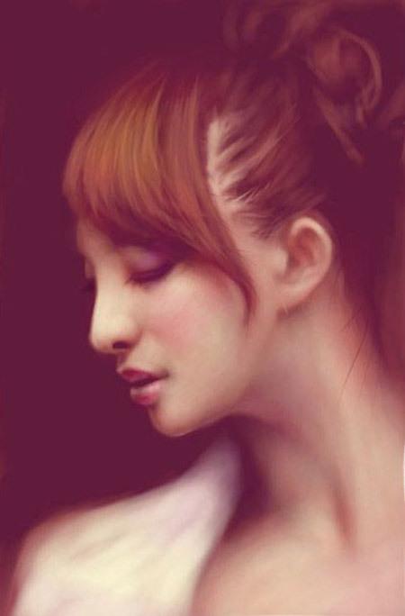 Сенсорные портреты – рисунки Сейко Ямаока на экранах iPod Touch и iPad — фото 3