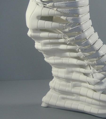 Обувь Еxoskeleton, распечатанная и хищная — фото 9