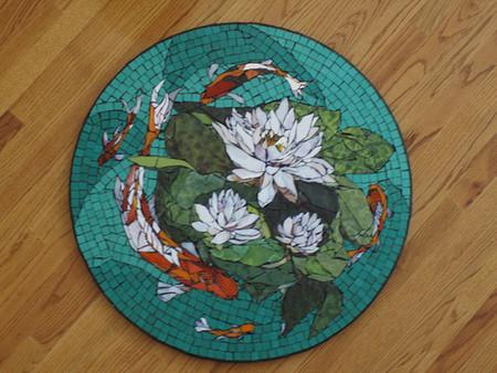 Механизмы и другие штуки в мозаиках Лоры Харрис — фото 15