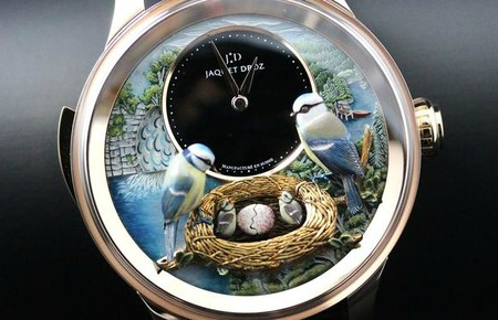 Дорогой эксклюзив – часы Jaquet Droz Bird Repeater — фото 3