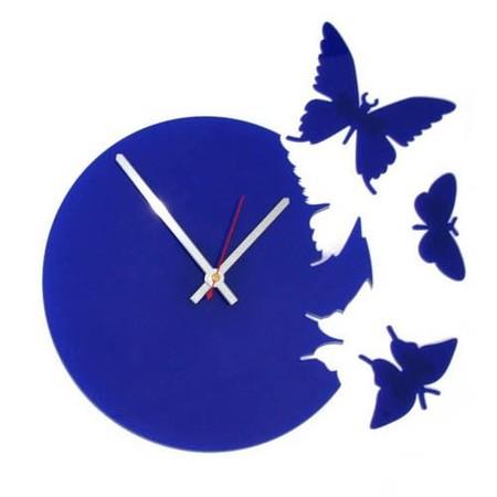 Что общего у времени и бабочек? Разгадка – в часах Butterfly clock — фото 9