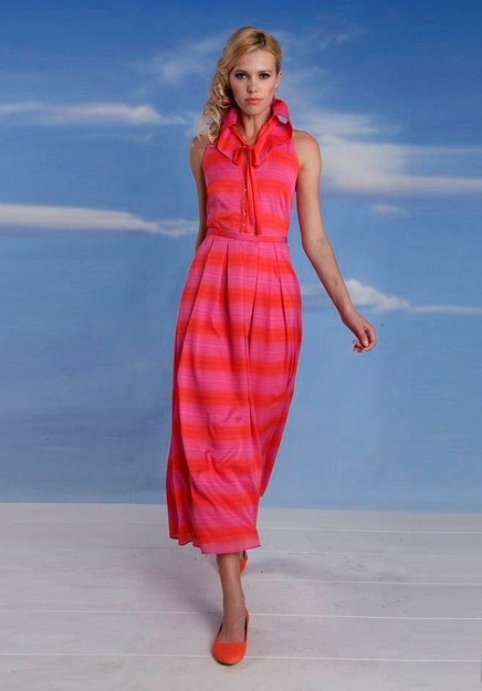 Платья Евы Франко – роскошная нежность и летняя свежесть — фото 21