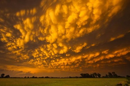 Торнадо, смерч, молнии, грозовые тучи – это красиво! Фотографии Майка Холлингшеда (Mike Hollingshead) — фото 21