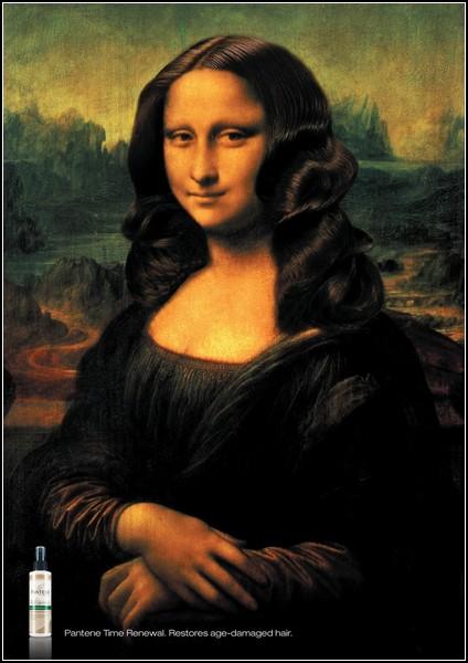 Улыбка Моны Лизы … на рекламных постерах. Новые идеи на вечную тему. — фото 4