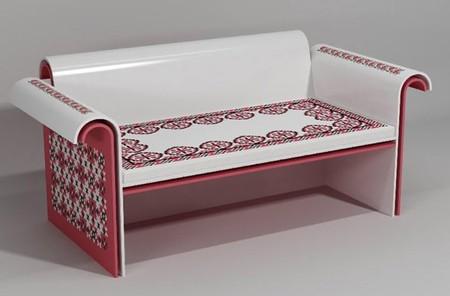 Вышивка по камню – мебель Ярослава Галанта — фото 12