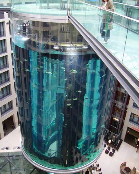 AquaDom — одна из главных достопримечательностей Берлина