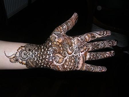 Менди – украшение не только для индийских принцесс — фото 66