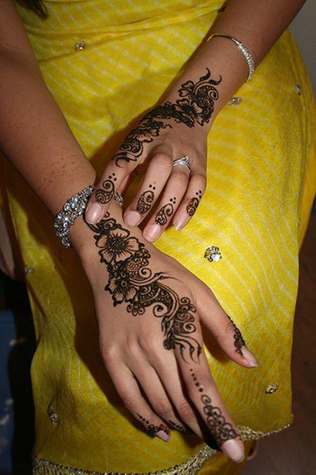 Менди – украшение не только для индийских принцесс — фото 61
