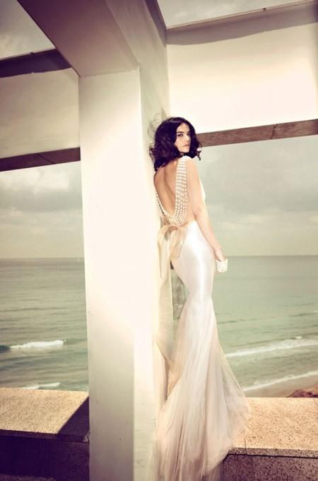 Свадебная коллекция Zahavit Tshuba – если хочется нежное и необычное платье — фото 29